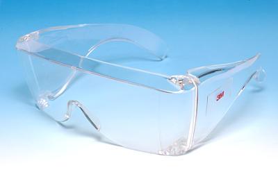Захисні окуляри 3МТМ 2700 можуть використовуватись поверх окулярів для  корекції зору та є ідеальним варіантом захисту відвідувачів на промислових  ... f99210ccda9d3